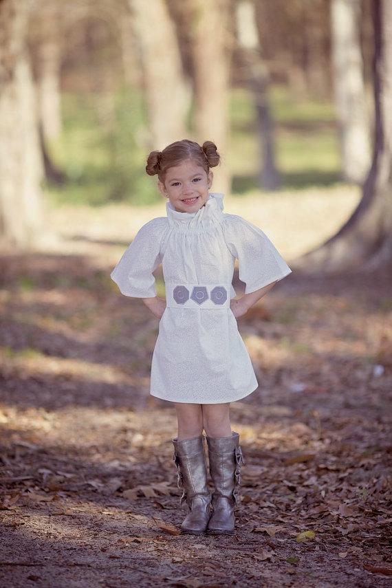Princess Leia Halloween Costume!