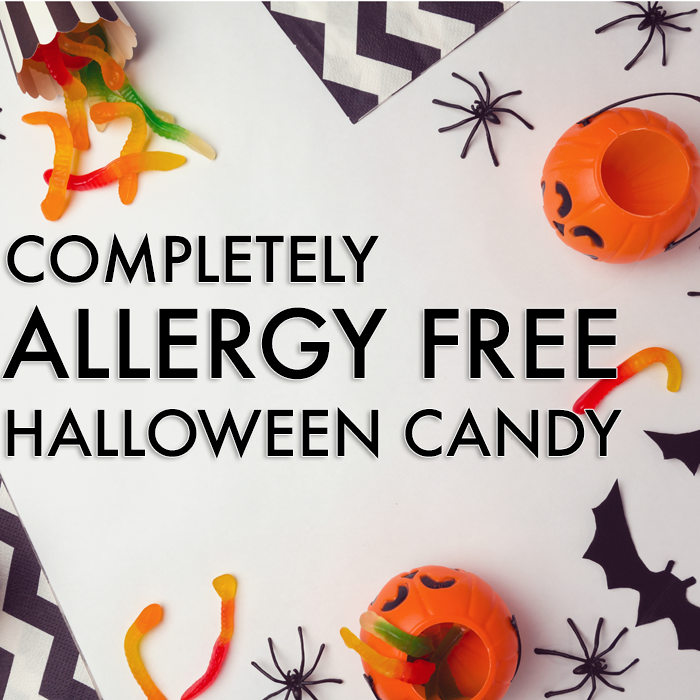 Completely Allergy Free Halloween Candy