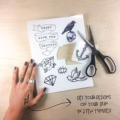 Tattify DIY Temporary Tattoo Paper