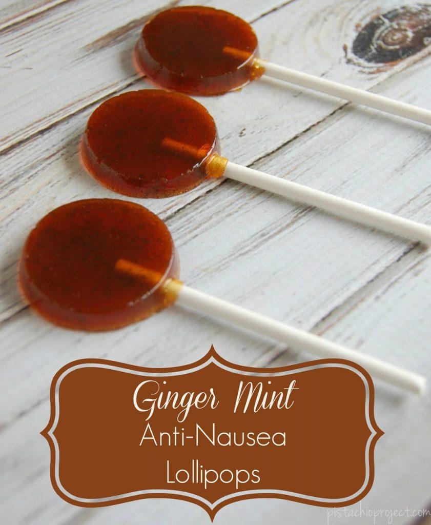 Ginger Anti Nausea Lollipops