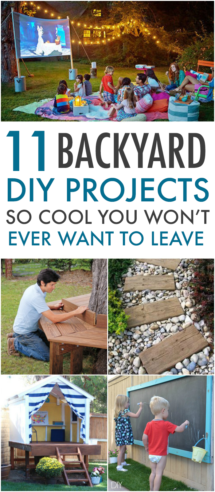 11 Yard DIY'S So Cool You Won't Want To Leave