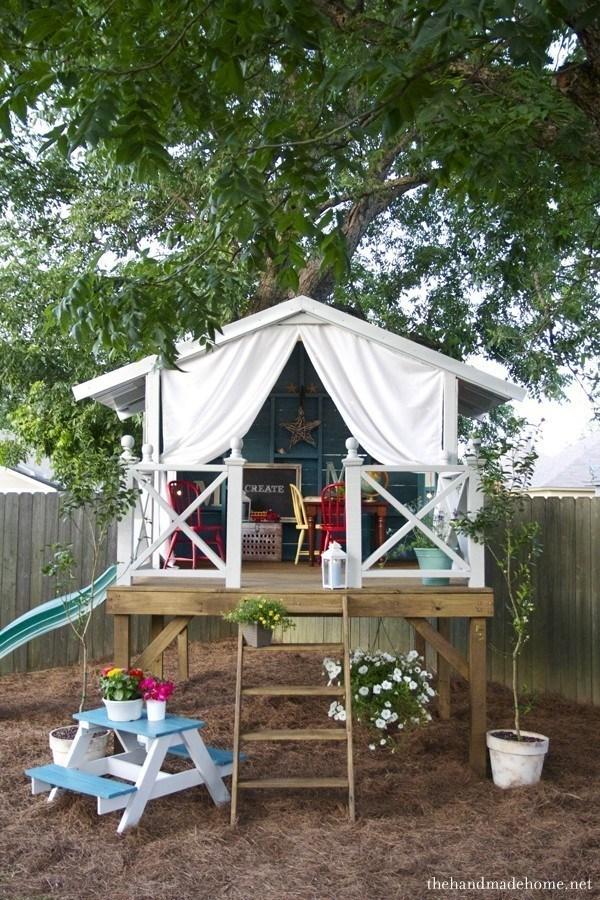 Kid Play Houses Bungalow DIY