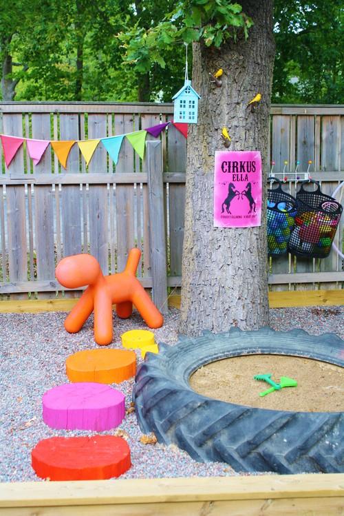 Color Backyard Play Area