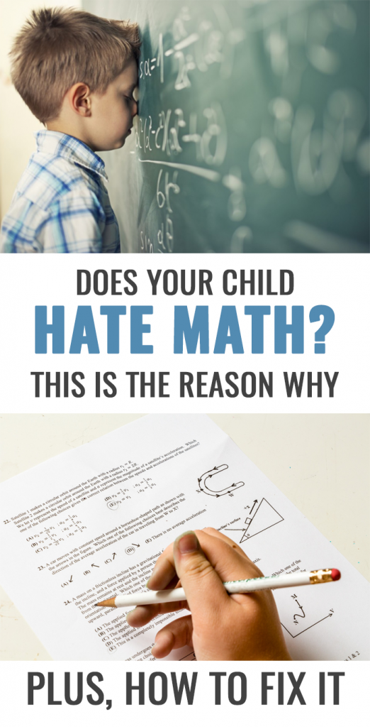 This Is Why Your Kid Hates Math