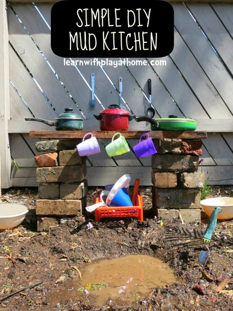mud kitchen outdoor play areas