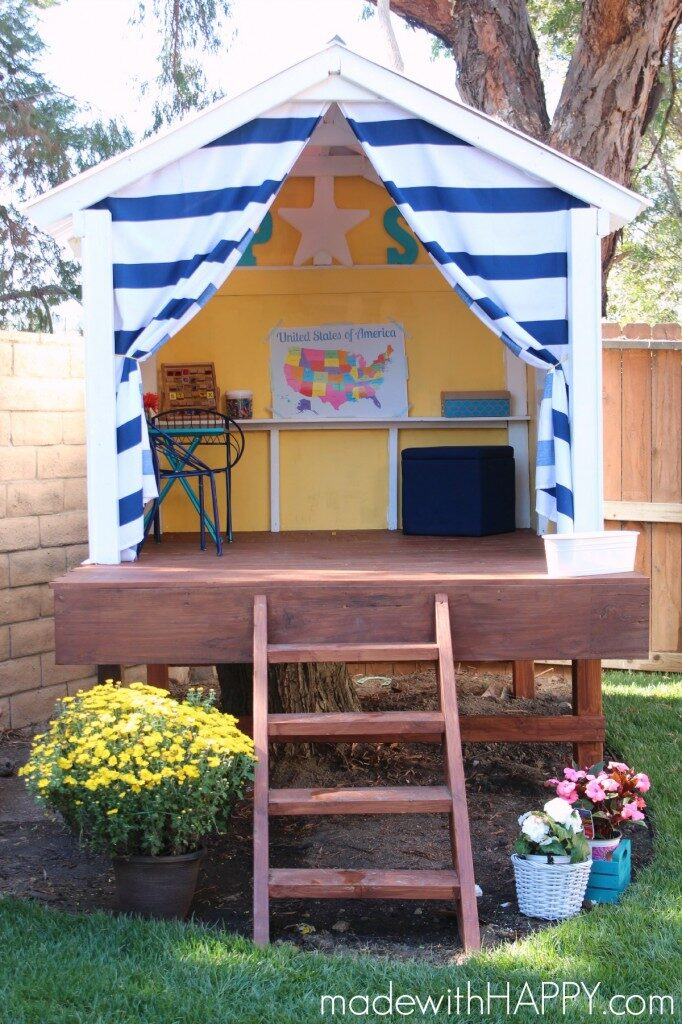 Small Treehouse for kids | Backyard Ideas