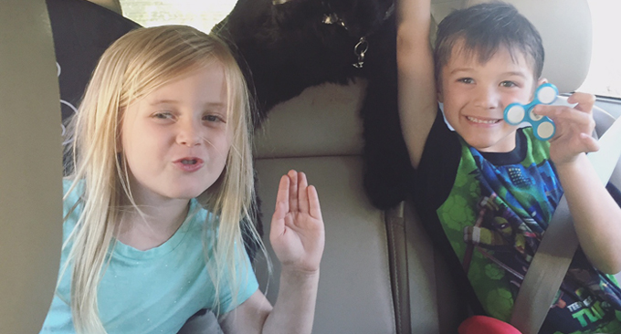 This Easy Road Trip Hack Will Keeps Your Kids Entertained