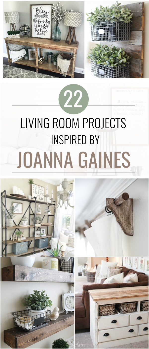 22 Joanna Gains Inspired Living Room Projects , Love and