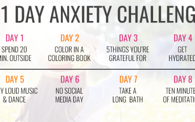 11 Day Anxiety Challenge