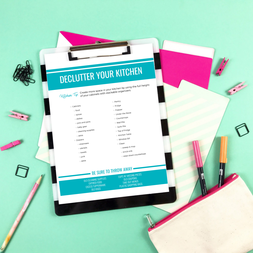 The Declutter Workbook