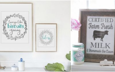 101+ Free Farmhouse Printables