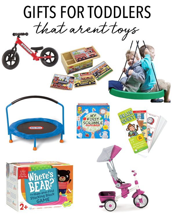 22 Non-Toy Gifts for Toddlers - Love and Marriage