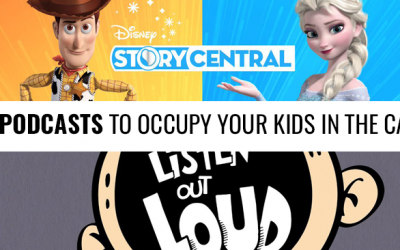 5 Podcasts To Happily Occupy Your Kids In The Car