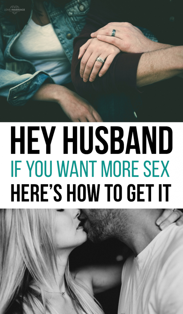 Hey Husband, If You Want More Sex, Here's How To Get It