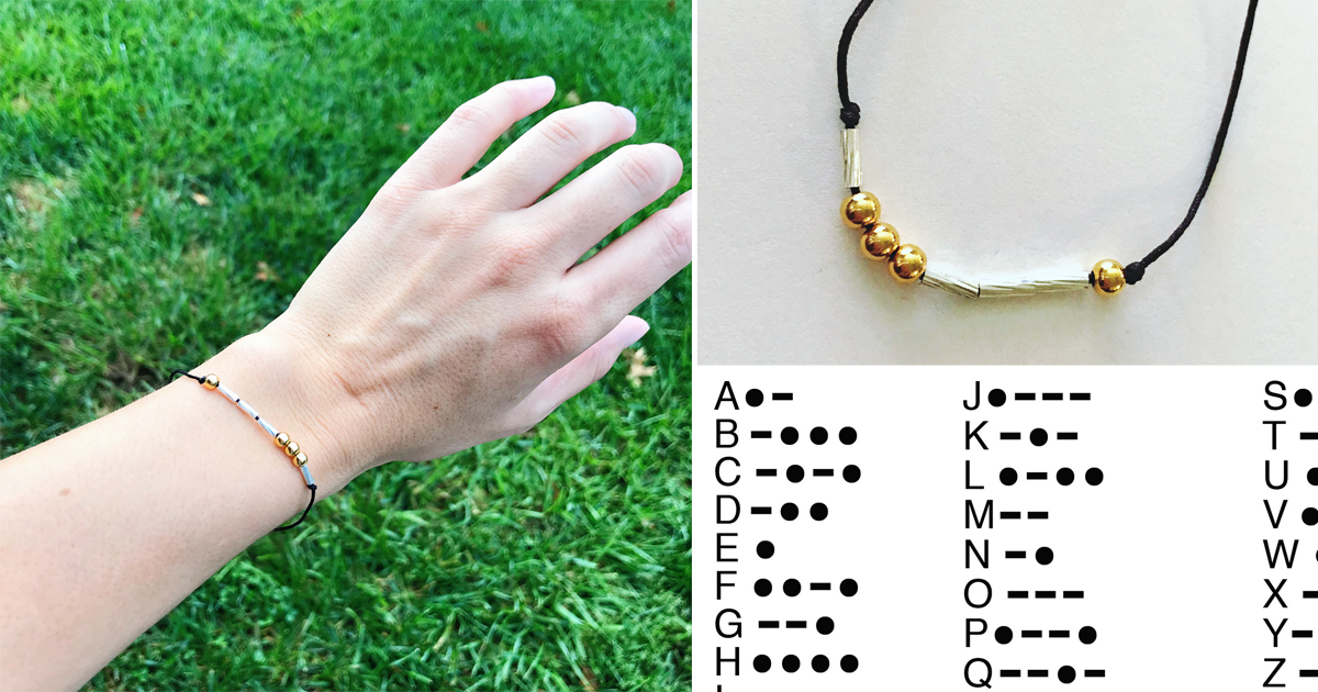 How To Make a DIY Morse Code Bracelet