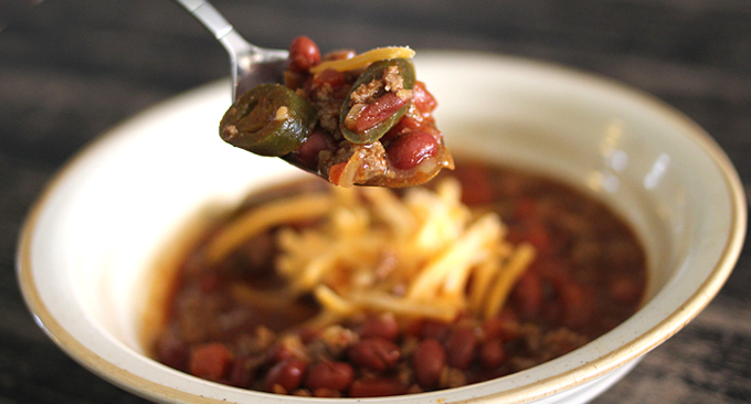 the best easy spicy chili