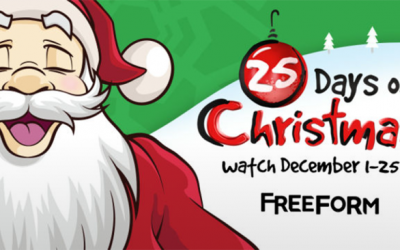 Freeform 25 Days of Christmas Announced – Full List of Movies