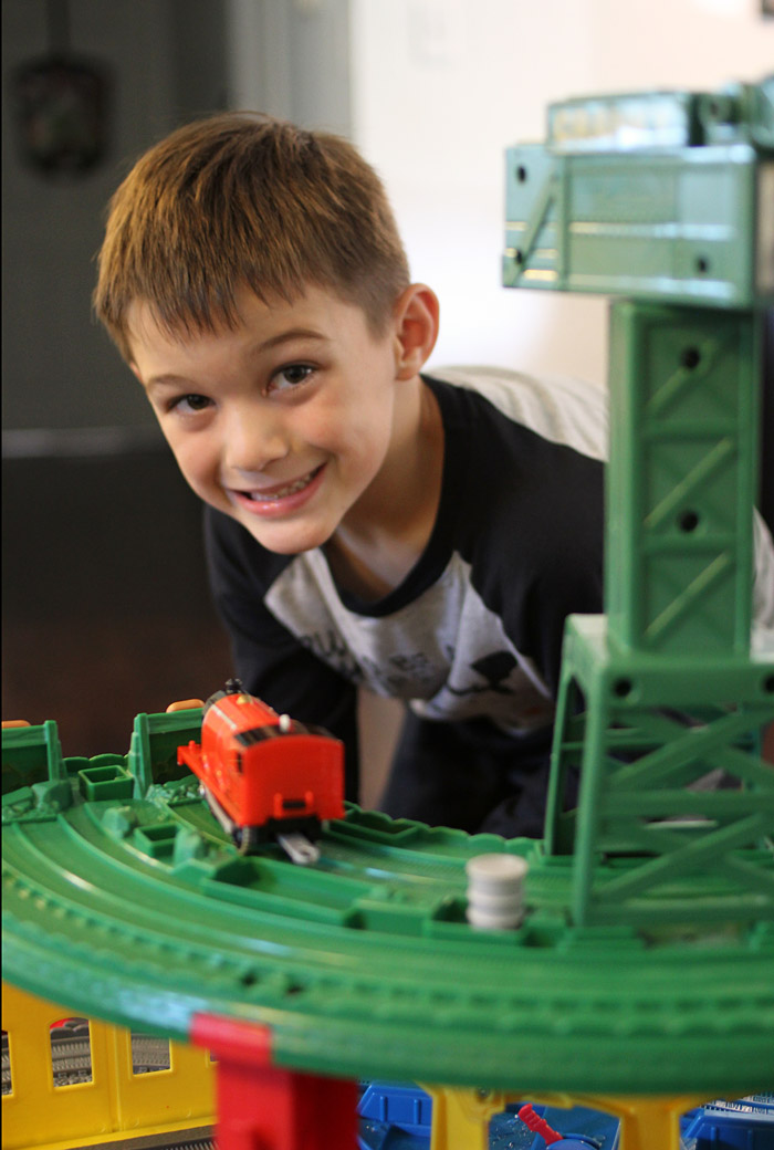 in actuality there is a scientific reason why almost all little boys totally dig trains did you know