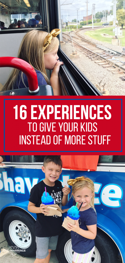16 Experiences To Give Your Kids This Christmas (Instead of More Stuff)