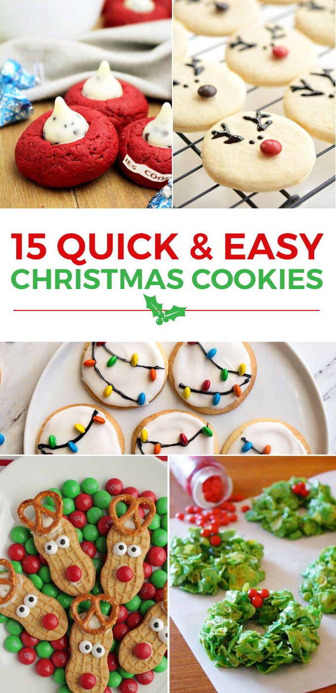15 Quick And Easy Christmas Cookies Love And Marriage