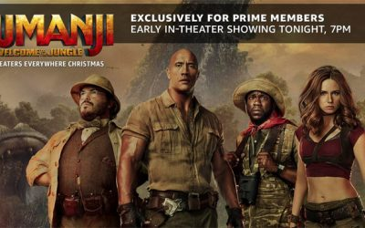 Amazon Prime Members Can Watch Jumanji Tonight Even Though It Doesn't Premiere Until 12/20