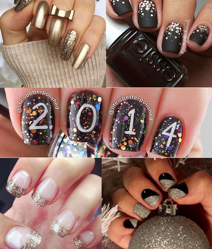 13 Gorgeous New Years Nails To Beautifully Ring in 2018