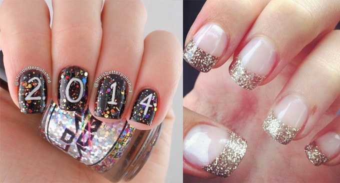 13 Gorgeous New Years Nails