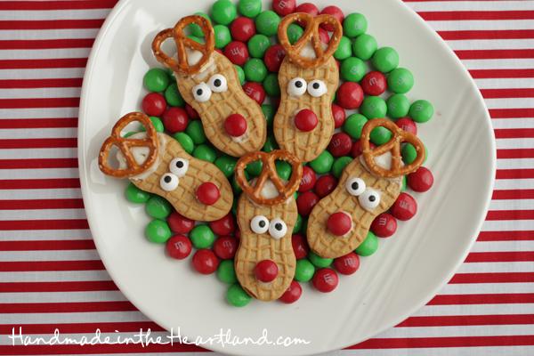 Nutter Butter Reindeer - Best Easy Christmas Cookies