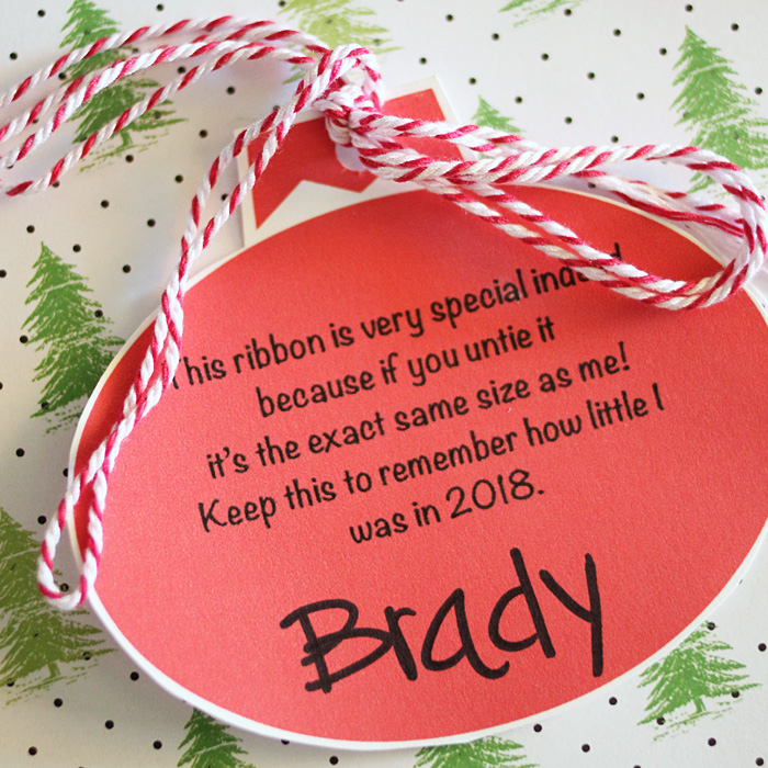 This Christmas printables idea is a keepsake everyone will remember and cherish!