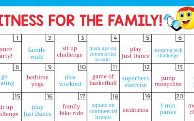 Fun Family Fitness Challenge
