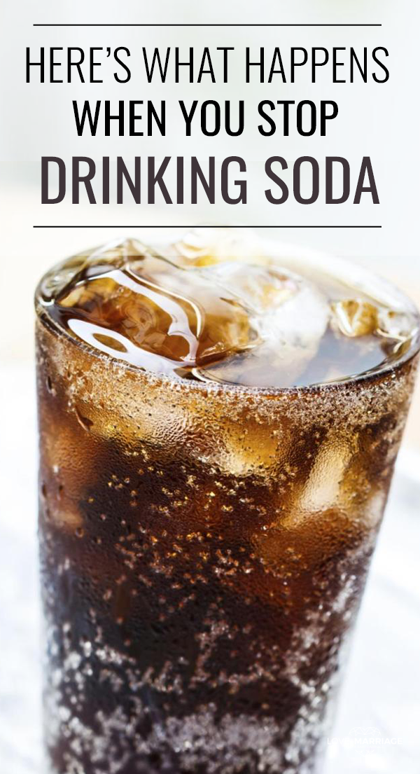 Here's What Happens When You Stop Drinking Soda