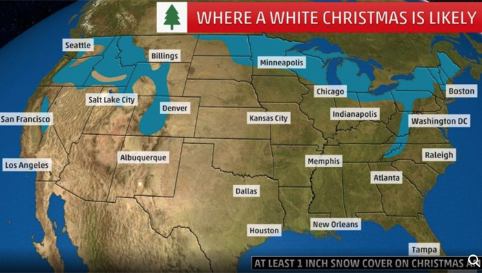 White Christmas Weather.com