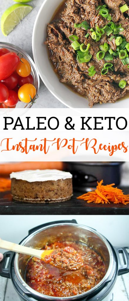 Paleo and Keto Instant Pot Recipes