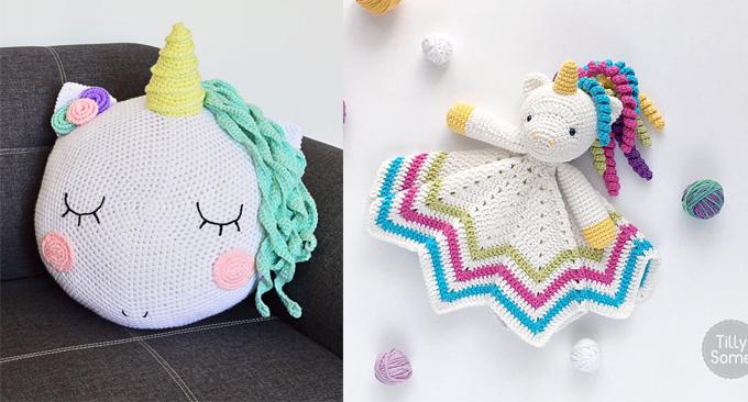 12 of The Cutest Unicorn Crochet Patterns