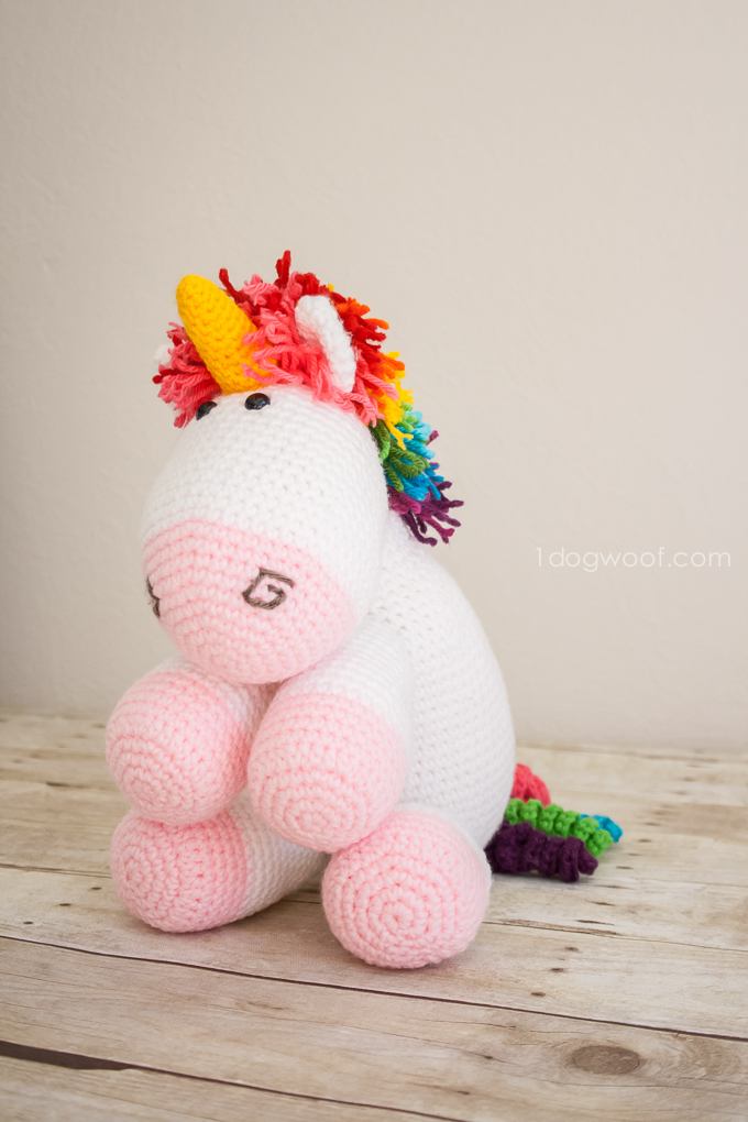 Free Unicorn Doll Crochet Pattern