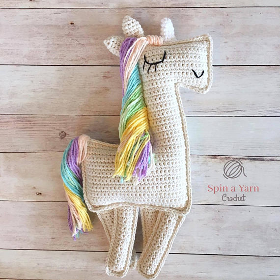 Unicorn Ragdoll Crochet Pattern