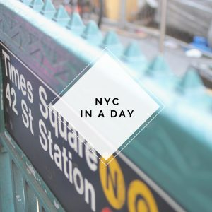 NYC IN A DAY
