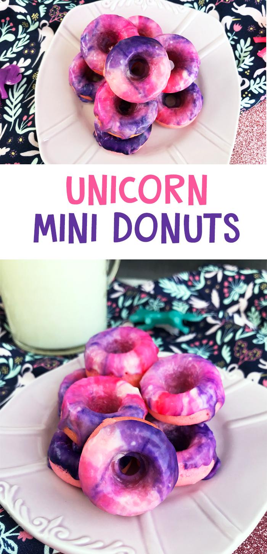 Miniature Unicorn Donuts