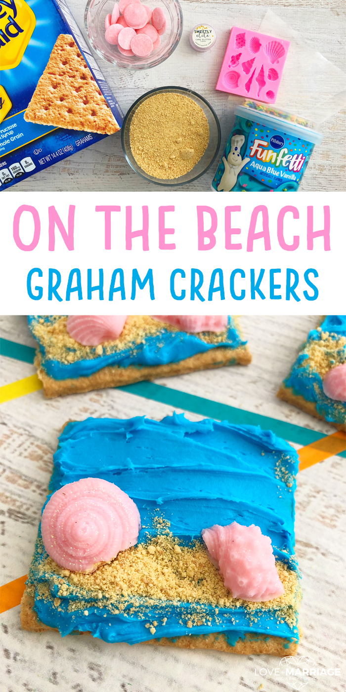 On The Beach Graham Crackers