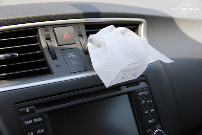 Make your car smell great quick