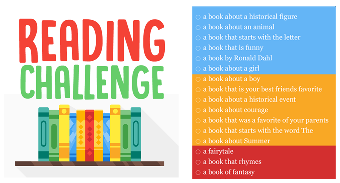 A Fun Kids Reading Challenge