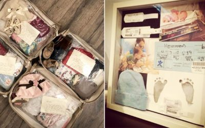 4 Sweet Ways To Save Those Sentimental Newborn Keepsakes