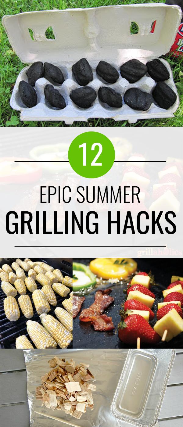 12 Epic Grill Hacks
