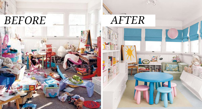 These Jaw Dropping Before and After Pictures Will Inspire You To Finally Declutter