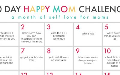 30 Day Happy Mom Challenge