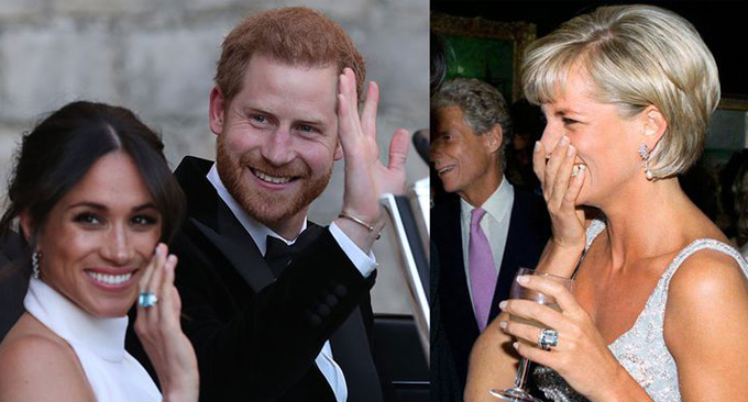 All The Sweet Ways Meghan And Harry Honored Princess Diana