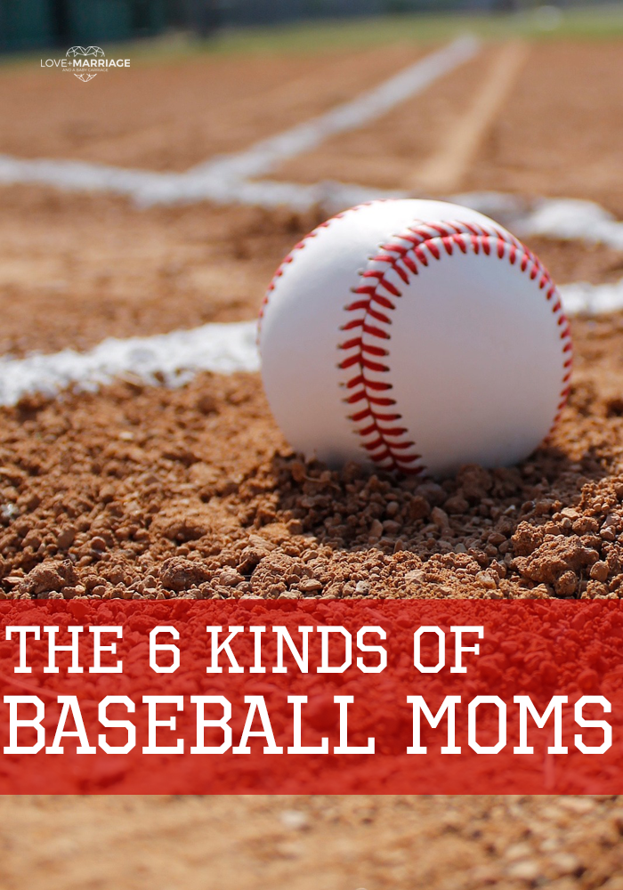 7 Kinds of Baseball Moms At a Little League Game