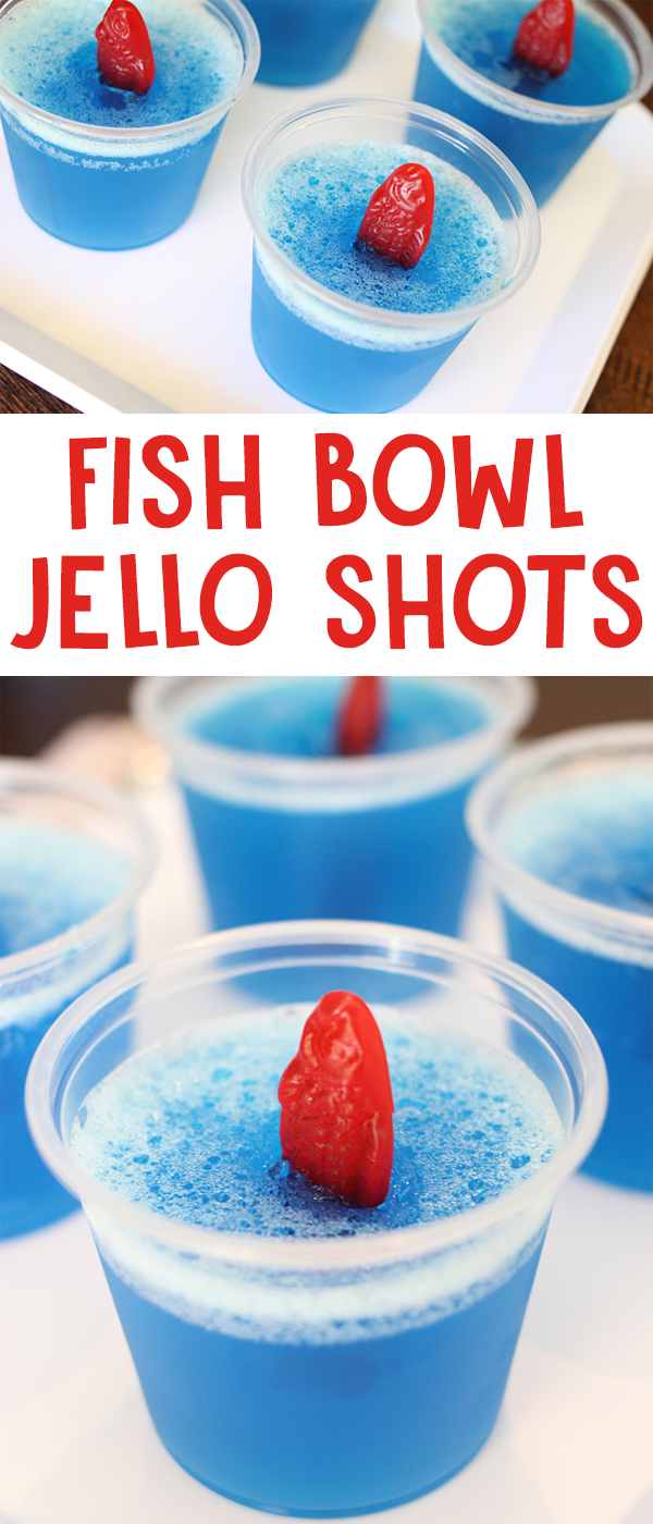 Fish Bowl Jello Shots