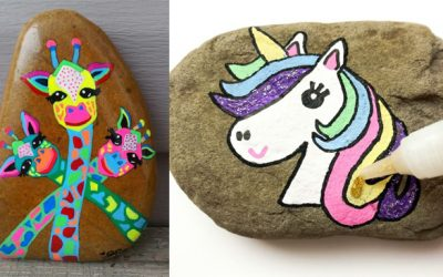 14 Most Adorable Painted Rocks
