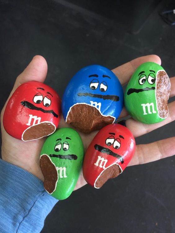 m m painted rocks love and marriage